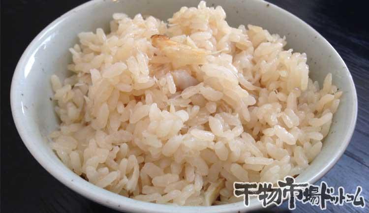 甘鯛の干物で鯛飯を炊いてみました_盛りつけ