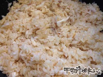 甘鯛の干物で鯛飯を炊いてみました_完成