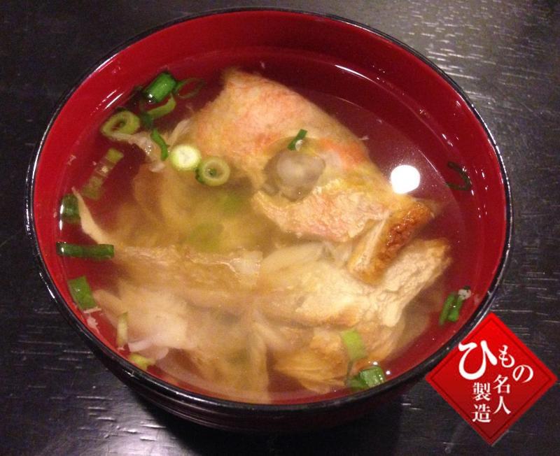 連子鯛で作る_ちらし寿司とお吸い物_ちらし寿司とお吸い物の完成です。