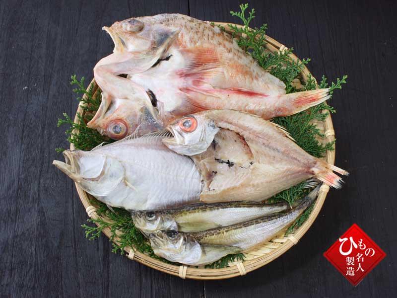 山陰沖 日本海産 4種類(ゆめかさご入り)