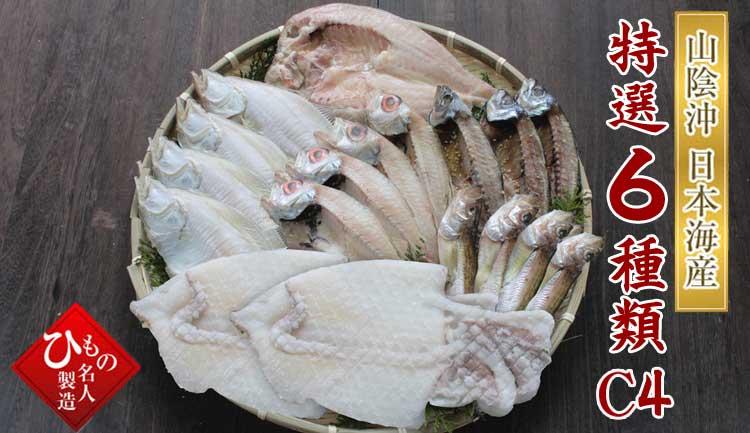 山陰沖 日本海産 名人の干物特選6種類