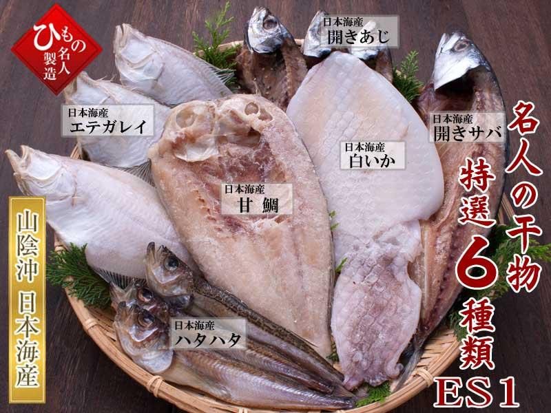 名人の干物6種-ES1