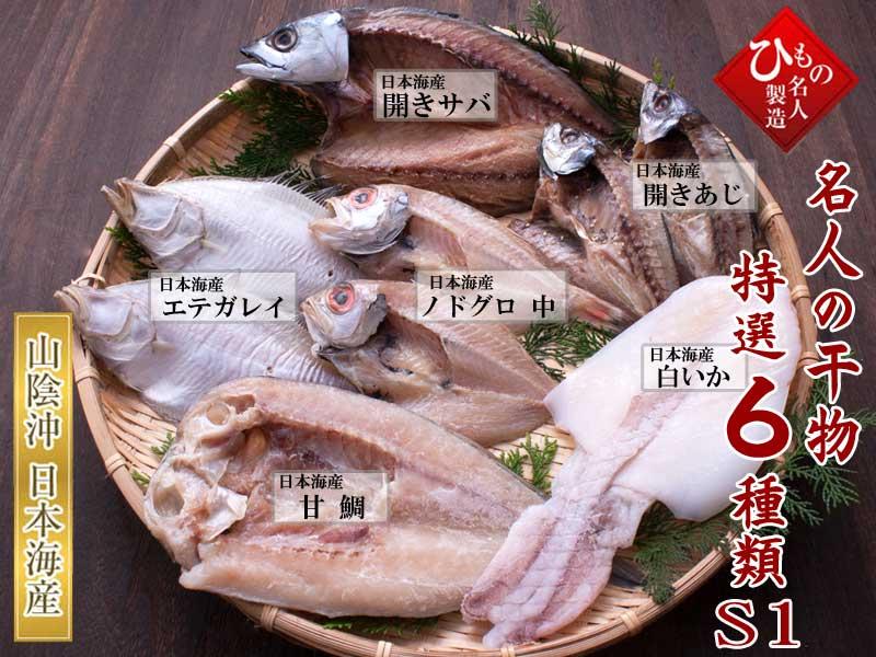 名人の干物6種-S1