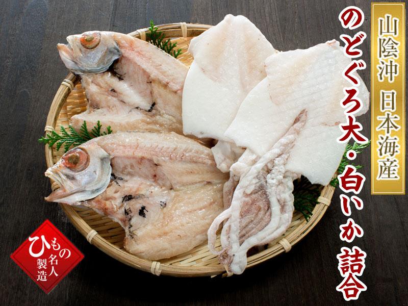 山陰沖 日本海産 名人の干物特選2種類-A