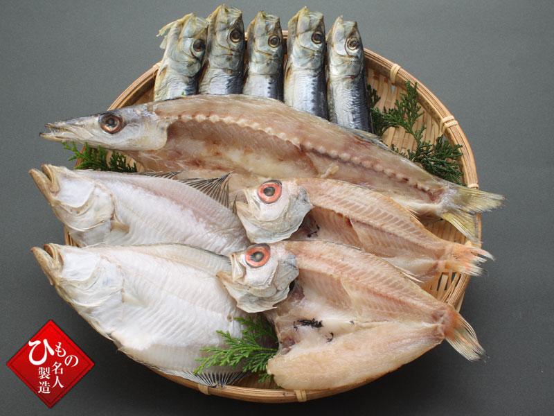 【敬老の日】ご長寿干物4種セットA2