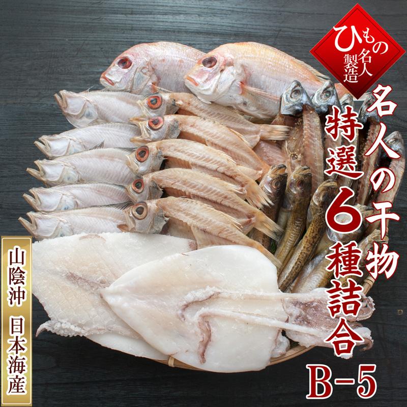 山陰沖 日本海産 名人の干物 祝-24尾