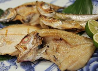 出産内祝い_焼けた魚