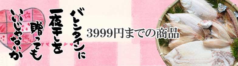 バレンタイン3999円の商品
