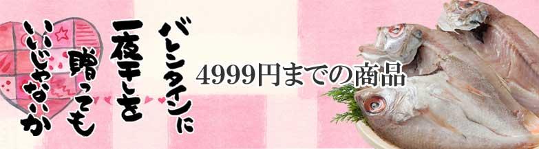 バレンタイン4999円の商品