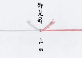震災地へのお中元お見舞い5本切り(熨斗なし)