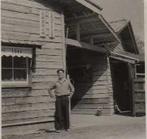 昭和30年頃の当社(米子市 内町)