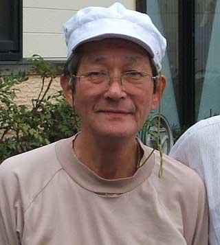 ノドグロ名人渡邉さん静かな口調の中に干物作り 45年の自信を感じさせます。