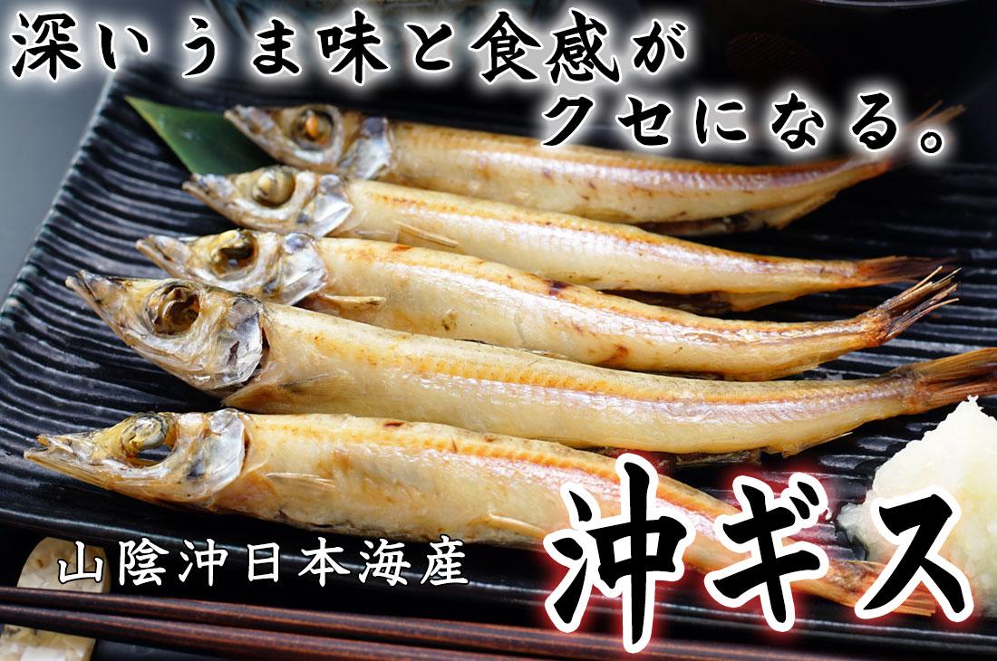 深いうま味と食感がクセになる 山陰沖日本海産 沖ギス
