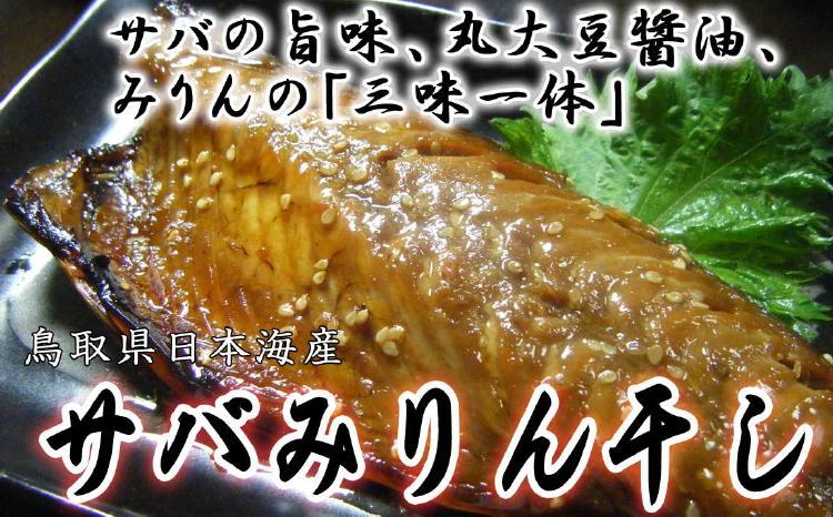 サバの旨味、丸大豆醤油、みりんの「三味一体」。山陰沖日本海産さばみりん干し