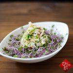 アジの干物とキュウリの中華風 酢の物
