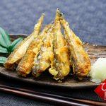はたはたの一夜干しで天ぷらを作る