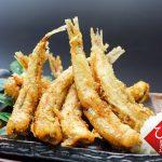 沖ぎすの丸干しで天ぷらを作る